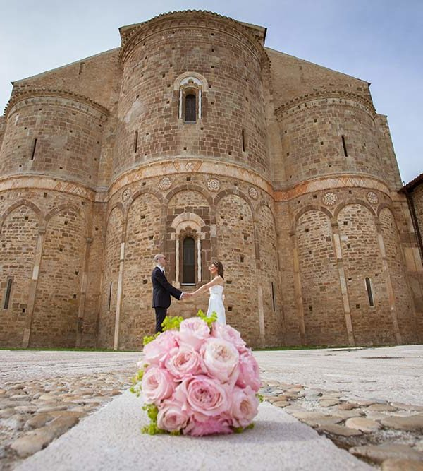 Lisa ed Emanuele sposi a S. Giovanni Venere